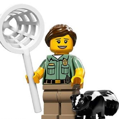 Animal Control Lego Minifigure from Series 15 Minifigures