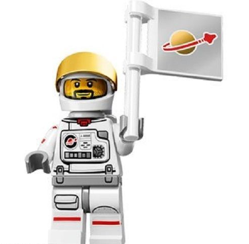 Astronaut Lego Minifigure from Series 15 Minifigures