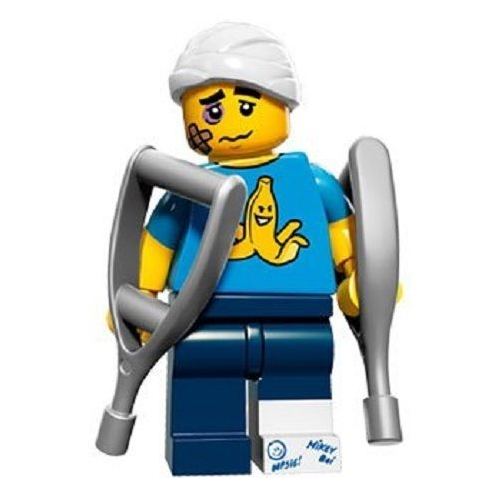 Clumsy Guy Lego Minifigure from Series 15 Minifigures
