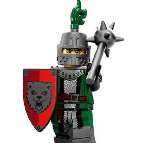 Frightening Knight Lego Minifigure from Series 15 Minifigures