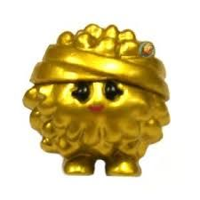 Gold Boomer from Moshi Monsters Series 4 Moshlings