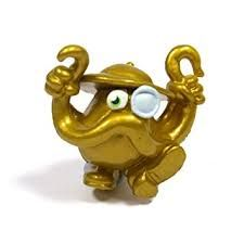 Gold Colonel Catcher from Moshi Monsters Series 3 Moshlings