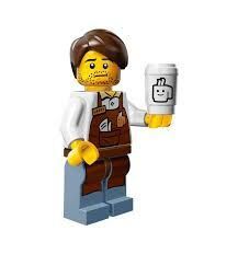 Larry Barista from Lego Movie Minifigure Series