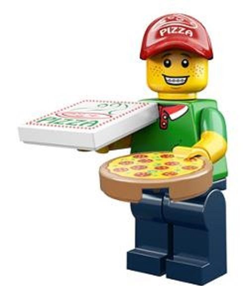 Lego Pizza Delivery Man  Minifigure Series 12