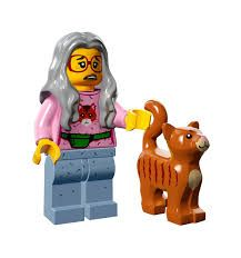 Mrs Scratchen Post from Lego Movie Minifigure Series