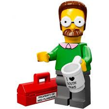 Ned Flanders Lego Minifigure from Series 1 Simpsons Minifigures