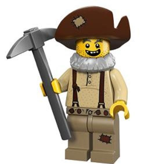 Prospector Lego Minifigure from Series 12 Collectible Minifigures