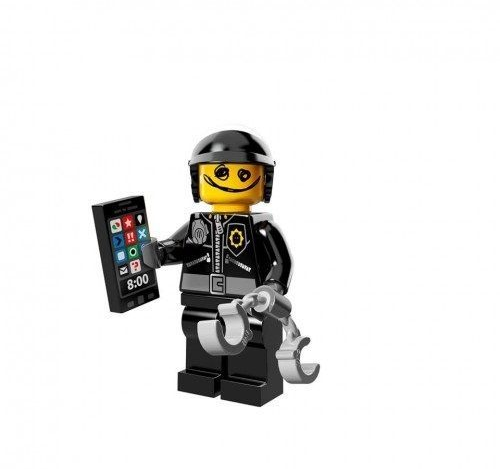 Scribble Face Bad Cop from Lego Movie Minifigure Series