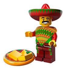 Taco Tuesday Guy Lego Movie Minifigure Series