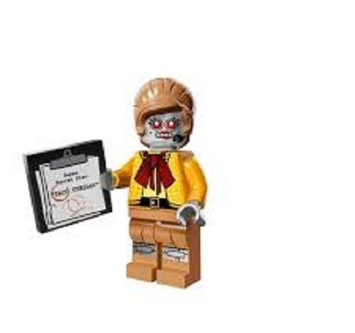 Velma Staplebot from Lego Movie Minifigure Series
